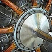 Le Rhone C-9j Engine Art Print