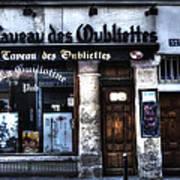 Le Taveau Des Oubliettes Paris France Art Print