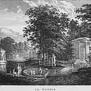 Le Temple Art Print