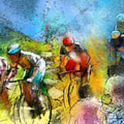 Le Tour De France 01 Art Print