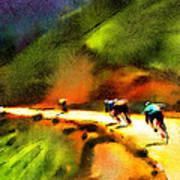 Le Tour De France 02 Art Print