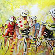 Le Tour De France 07 Acrylics Art Print