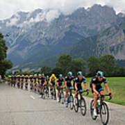 Le Tour De France 2013 - Stage Eighteen Art Print