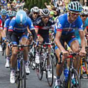 Le Tour De France 2014 - 2 Art Print