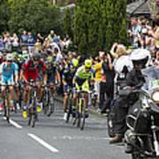 Le Tour De France 2014 - 5 Art Print
