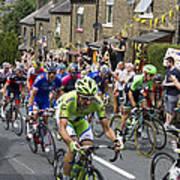 Le Tour De France 2014 - 7 Art Print