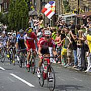 Le Tour De France 2014 - 9 Art Print