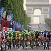 Le Tour De France 2014 - Stage Twenty Art Print