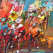 Le Tour De France Madness 04 Art Print