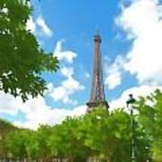Le Tour Eiffel Art Print