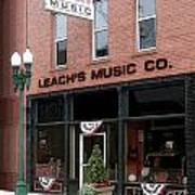 Leach's Music Art Print