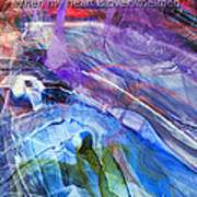 Lead Me To The Rock-psalm 61vs2 Art Print