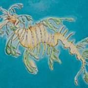 Leafy Sea Dragon Print by Yabette Swank
