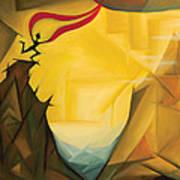 Leap Of Faith Art Print by Tiffany Davis-Rustam