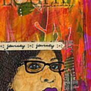 Learning From Yesterday - Journal Art Art Print