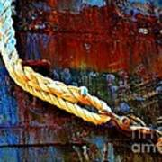 Learning The Ropes Art Print