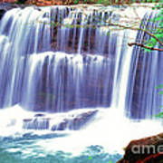 Leatherwood Falls Art Print