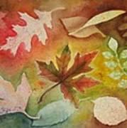 Leaves L Art Print