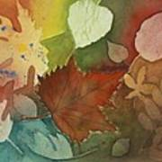 Leaves Vl Art Print