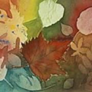 Leaves Vl Art Print