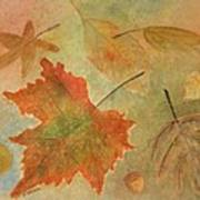 Leaves Vll Art Print