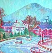 Leaving Roanoke Art Print