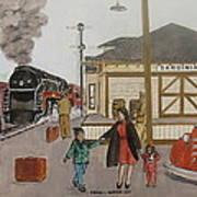 Leaving Sardinia 1944 Art Print