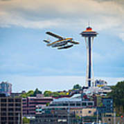 Leaving Seattle Art Print