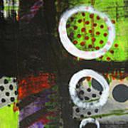 Leaving The Dark Abstract  Art Print