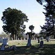 Lebanon Cemetery Oklahoma Art Print