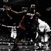 Lebron And D Wade Showtime Art Print