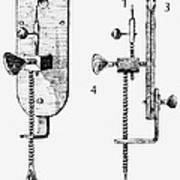 Leeuwenhoek: Microscope Art Print