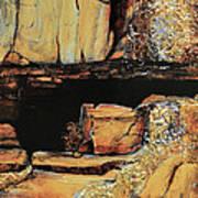 Legendary Lost Dutchman Mine Art Print