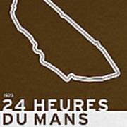 Legendary Races - 1923 24 Heures Du Mans Art Print