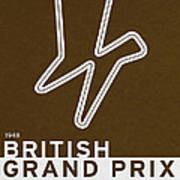 Legendary Races - 1948 British Grand Prix Art Print
