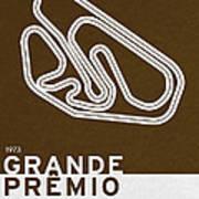 Legendary Races - 1973 Grande Premio Do Brasil Art Print