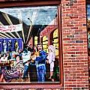 Legends Bar In Downtown Nashville Art Print