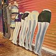 Legs 846a Art Print