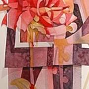 Legs Of A Flower Art Print