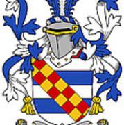 Leigh Coat Of Arms II Bradley Lancashire Art Print