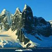 Lemaire Channel Antarctica Art Print