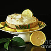 Lemon Meringue Delight Art Print