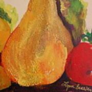 Lemons Pears Apples Art Print