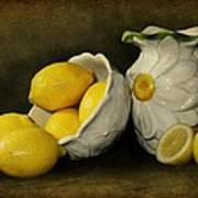 Lemons Today Art Print by Diana Angstadt