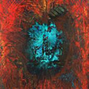 Lemurian Fire Cave 2010 Art Print