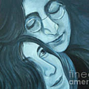 Lennon And Ono Art Print