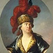 Lenoir, Simon Bernard 1729-1791. Lekain Art Print