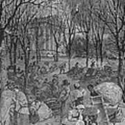 Lenox, Massachusetts, From Historical Collections Of Massachusetts, John Warner Barber, Engraved Art Print