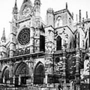 Leon Cathedral Art Print