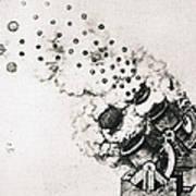 Leonardo: Cannon Art Print